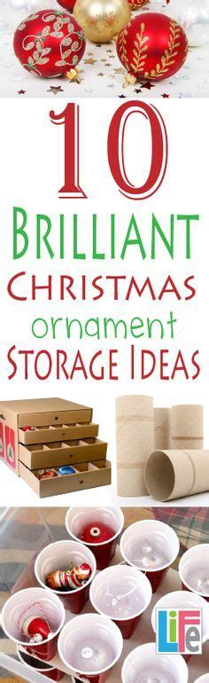 25 best ideas about christmas ornament storage on