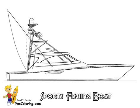 fishing boat coloring pages free rugged boat coloring page boats free ship coloring