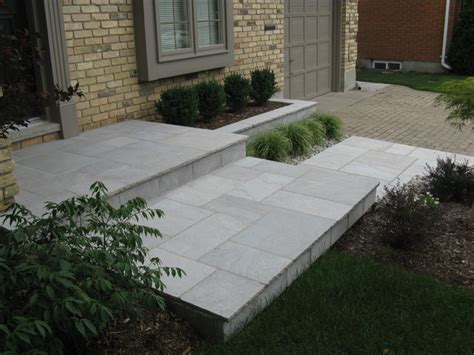 Cut Flagstone Patio by Eramosa Square Cut Flagstone Porch Step Walkway And