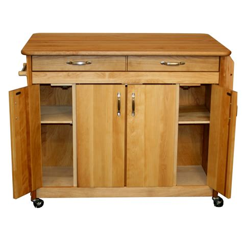 Butcher Block Portable Kitchen Island | island portable butcher block kitchen kitchen island