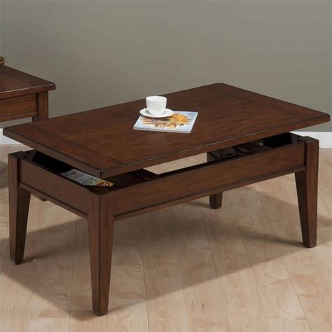 Best Finish For Coffee Table Jofran Lift Top Coffee Table In Dunbar Oak Finish 411 1