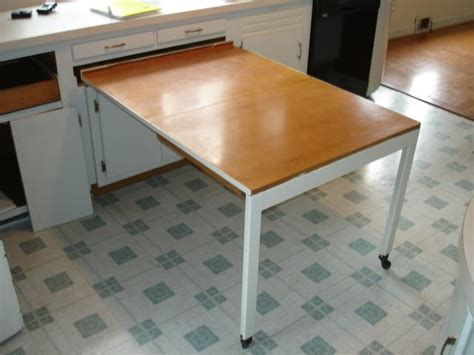 Built In Kitchen Table by Great Space Saving Idea The Built In Kitchen Table Shown