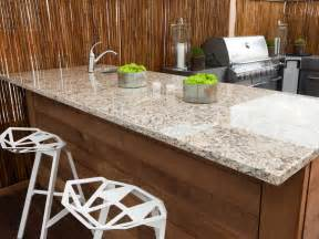 granite kitchen countertops pictures amp ideas from hgtv outdoor countertop options landscaping and
