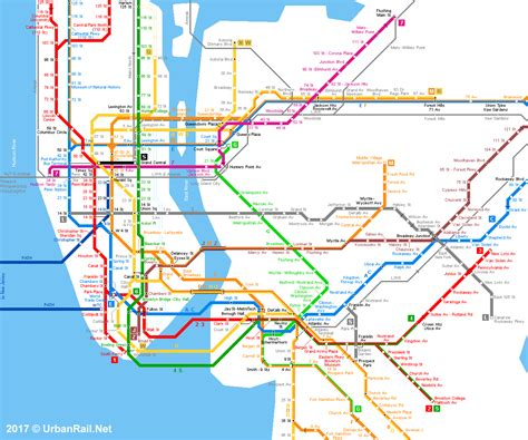 subway map new york urbanrail net gt america gt usa gt new york gt new york city