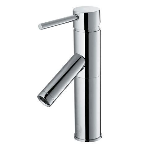 vigo bathroom faucets vigo single hole single handle bathroom faucet in chrome