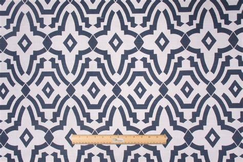 navy drapery fabric premier prints chevelle slub printed cotton drapery