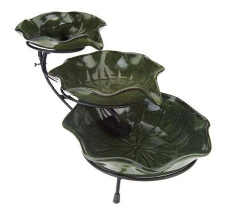 lily pad cascading solar fountain  smart solar qvccom