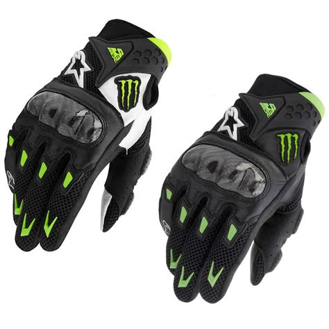 Motorradhandschuhe Valentino Rossi by Gants De Moto Alpinestars Smx 2 M10 Air Carbone Monster