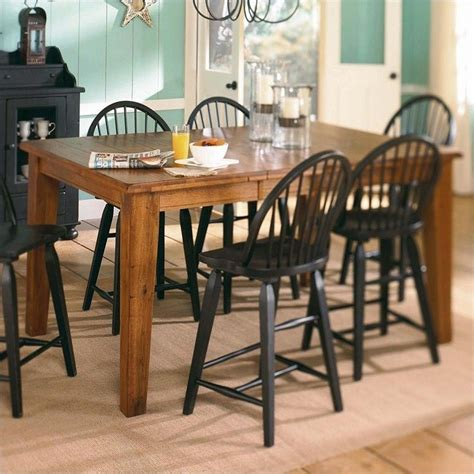 broyhill attic heirlooms counter height dining table in
