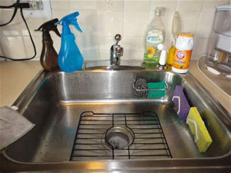 how to keep kitchen sinks and sponges clean naturally bubbly
