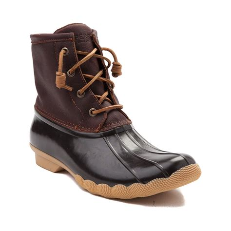 womans duck boots womens sperry top sider saltwater boot