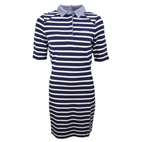 robe marini 232 re hilfiger bleu marine et blanche pour