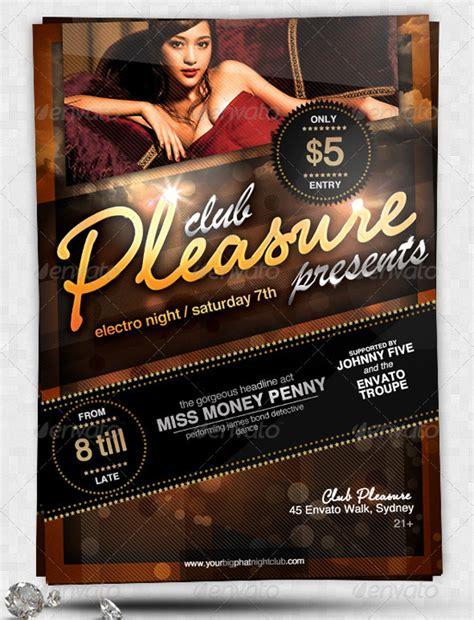 club flyers template nightclub flyers templates www pixshark images