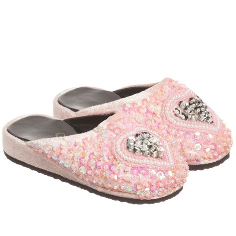 souza pink sequin shoes childrensalon