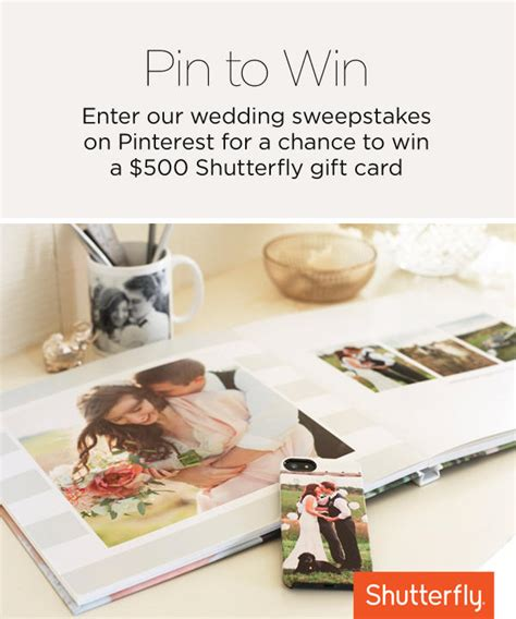 Honeymoon Sweepstakes And Giveaways - win shutterfly gift credit for custom wedding photobooks wedding day giveaways