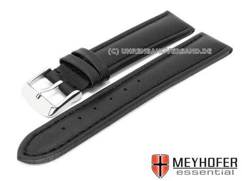 Narita M Xl xl narita 20mm black leather smooth stitched by meyhofer