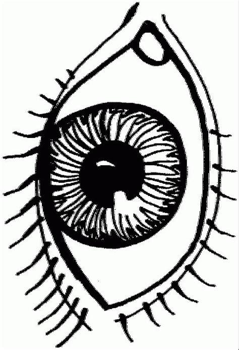coloring pages of the eye kleurplaten oog kleurplaten kleurplaat nl