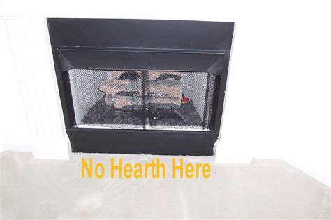 manufactured fireplace hearth extensions internachi