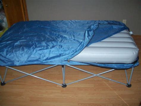 folding air mattress bed with stand east