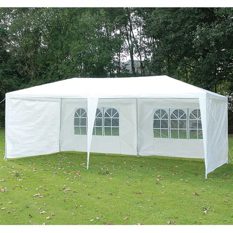 white gazebo draper x 4 white gazebo side panels splashproof l 3 x