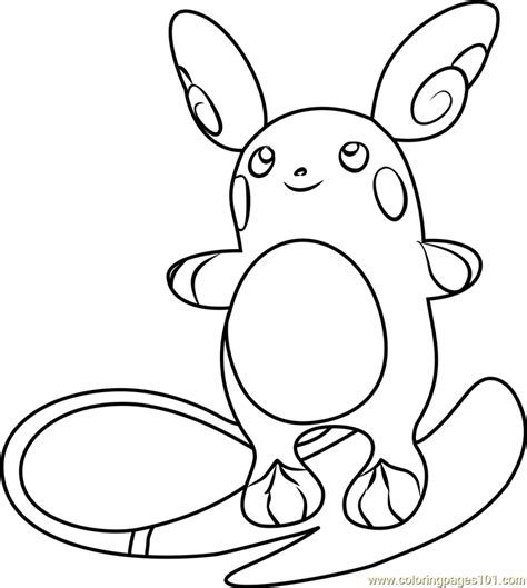 raichu pokemon coloring pages images pokemon images