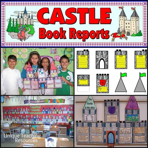 poster book report ideas large castle book report project templates