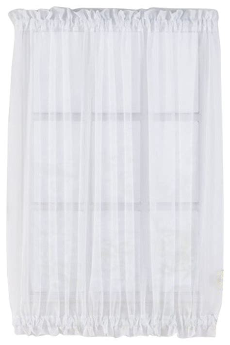 40 long curtains sheer voile door panels curtains for french doors white