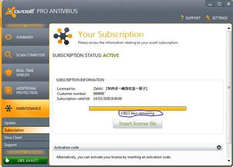 free avast antivirus activation code avast antivirus free license activation key for new