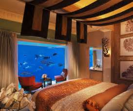 See The Room Inside Dubai S Underwater Suites That Come With Views Into