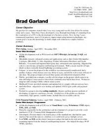 resume objectives exles best templateresume objective