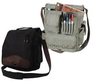 Men s vintage m 51 engineers bag black canvas work satchel w