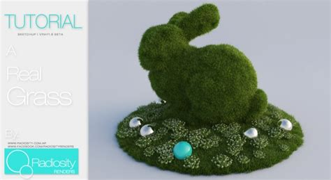 tutorial cesped vray sketchup tutorial vray for sketchup proxy real grass