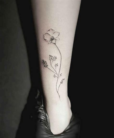 minimalist rabbit tattoo tiny tattoo idea stella luo creates mesmerizing