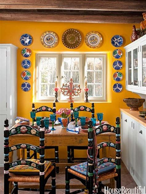 kitchen  santa fe style mexican home decor