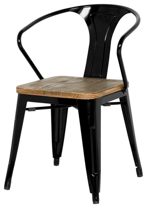 metal dining chairs industrial grand metal arm chair set of 4 industrial dining chairs by apt2b