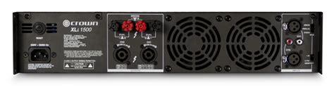 Power Lifier Crown Xli 2500 xli 1500 crown audio professional power lifiers