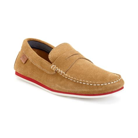 lacoste loafers sale lacoste loafers in beige for lyst