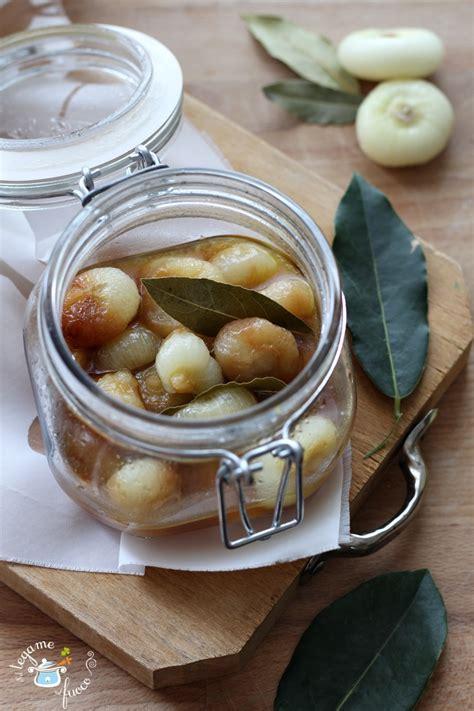 cipolline in agrodolce in vaso cipolline in agrodolce in vasocottura ricetta cotta in 6