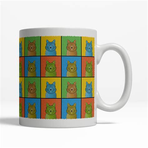 design a mug online australia australian terrier mug cartoon pop art coffee cup