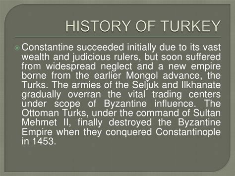 The Ottoman Turks Conquered All Of The Following Except History Of Turkey