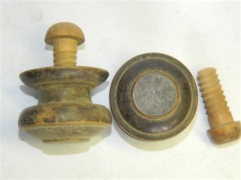 Wood Drawer Knobs by Robinson S Antique Hardware Carved Wooden Pulls