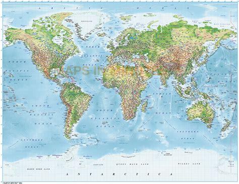 world map image high resolution digital vector world relief map political regular