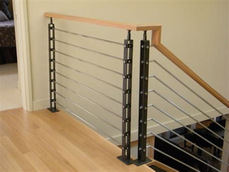 Modern Decor Ideas For Living Room by Ic Railing Contemporary Staircase Seattle By
