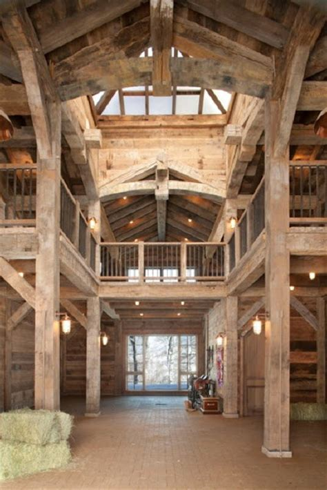 Barn Home Interiors by Acquired Objects Barn Interiors