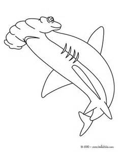 great hammerhead shark coloring pages hellokids com