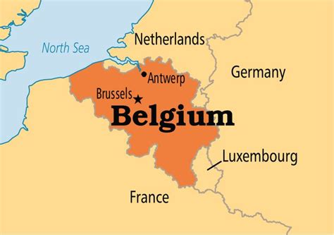 belgium in map what countries borders with belgium learn