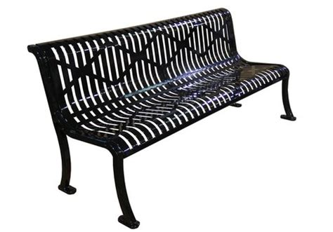 armless bench 6 vegas armless bench commercial site furnishings