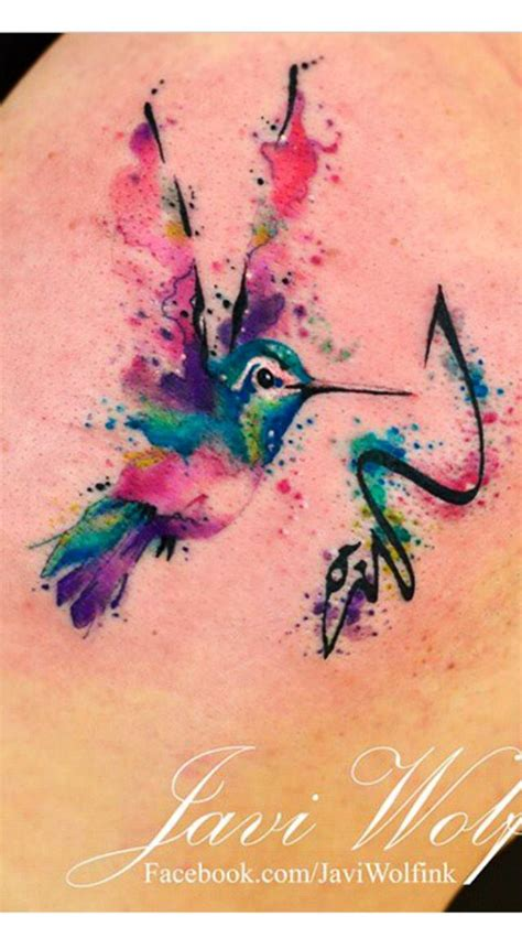 watercolor tattoo kolibri 1000 ideas about hummingbird watercolor on