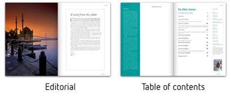 table of contents indesign template best photos of magazine table of contents template time