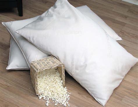 Shredded Rubber Pillow organic lifestyle shredded rubber pillow